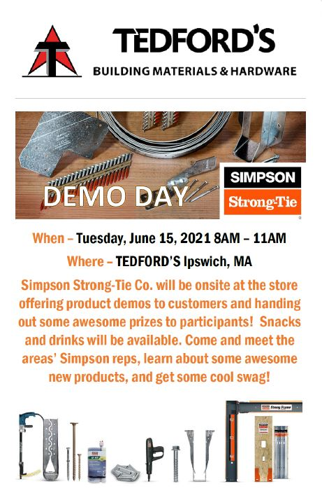 Simpson Strong-Tie product demonstration